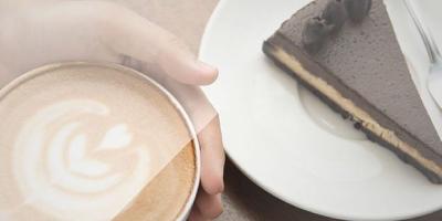 Café e uma torta